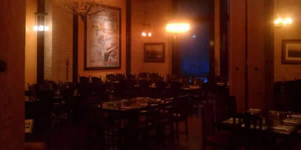 The Old Spaghetti Factory Dining Room